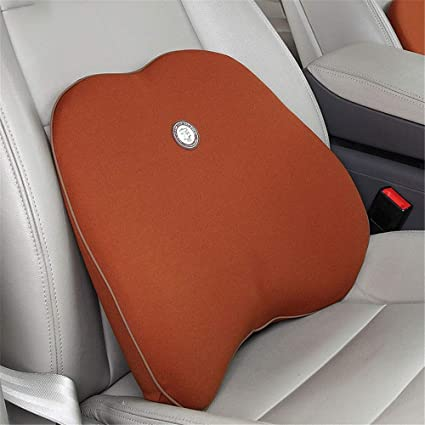Almohada lumbar coche Soporte lumbar para silla de oficina ...