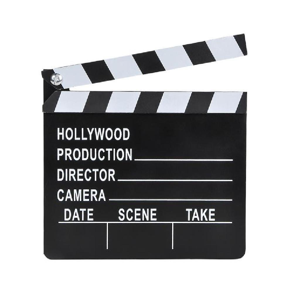 7''X 8'' Movie Clap Board