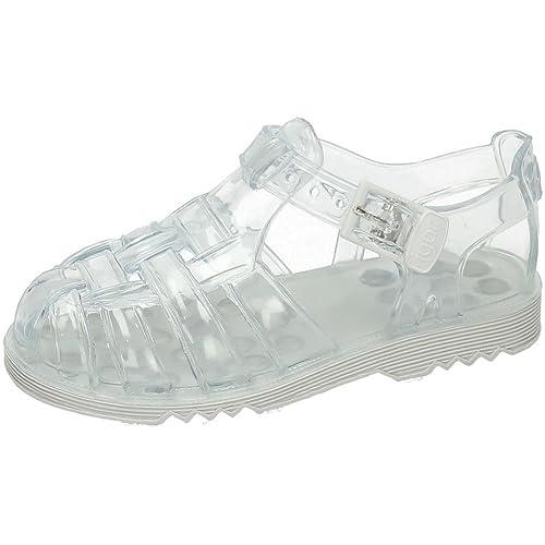 21563661e IGOR Cholo CANGREJERAS DE Goma NIÑO Sandalias Transparente 25  Amazon.es   Zapatos y complementos