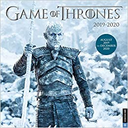 game of thrones 2019 2020 17 month wall calendar