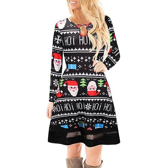 67acd754443d0 ワンピース レディース Kohore セクシー クリスマスワンピ レディース ワンピース 長袖 ドレス ワンピース レディース チュニックワンピース  ミニワンピース