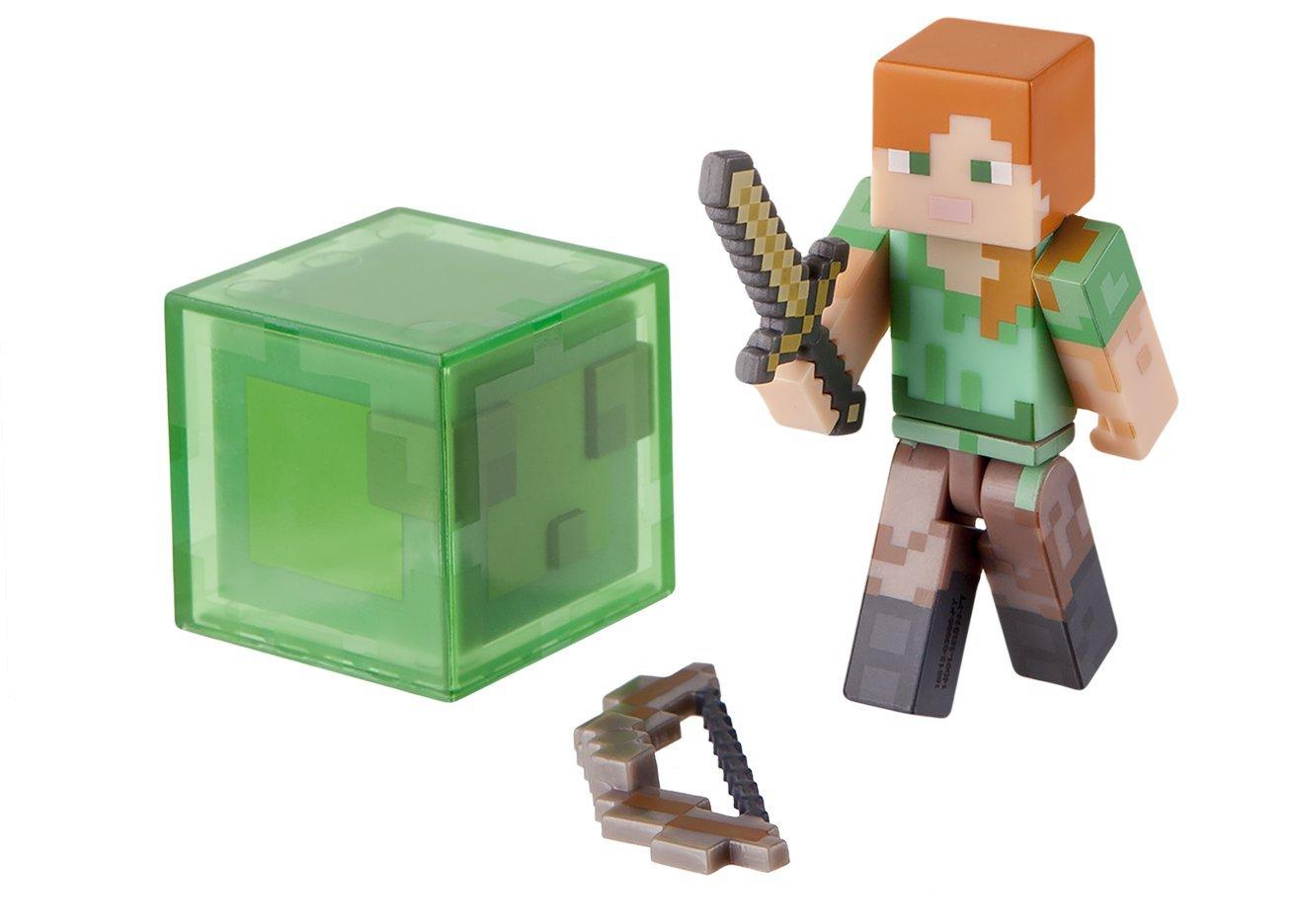 Minecraft - 16513 - Figurine Articulée avec Accessoires - Alex - Série 3 Jazwares 5522949