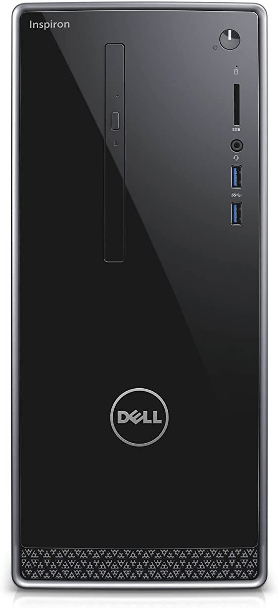 Dell Inspiron Flagship Premium Desktop PC, Intel Core i5-7400 Quad Core, 3GHz, 16GB RAM, 256GB SSD, DVD, WiFi Bluetooth HDMI VGA, Windows 10 Pro