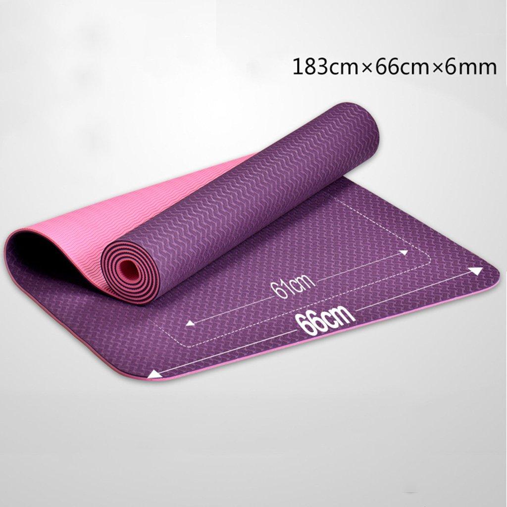 erru- Yoga Mats Yoga Mat 6 mm ampliar y regla ejercicio de ...