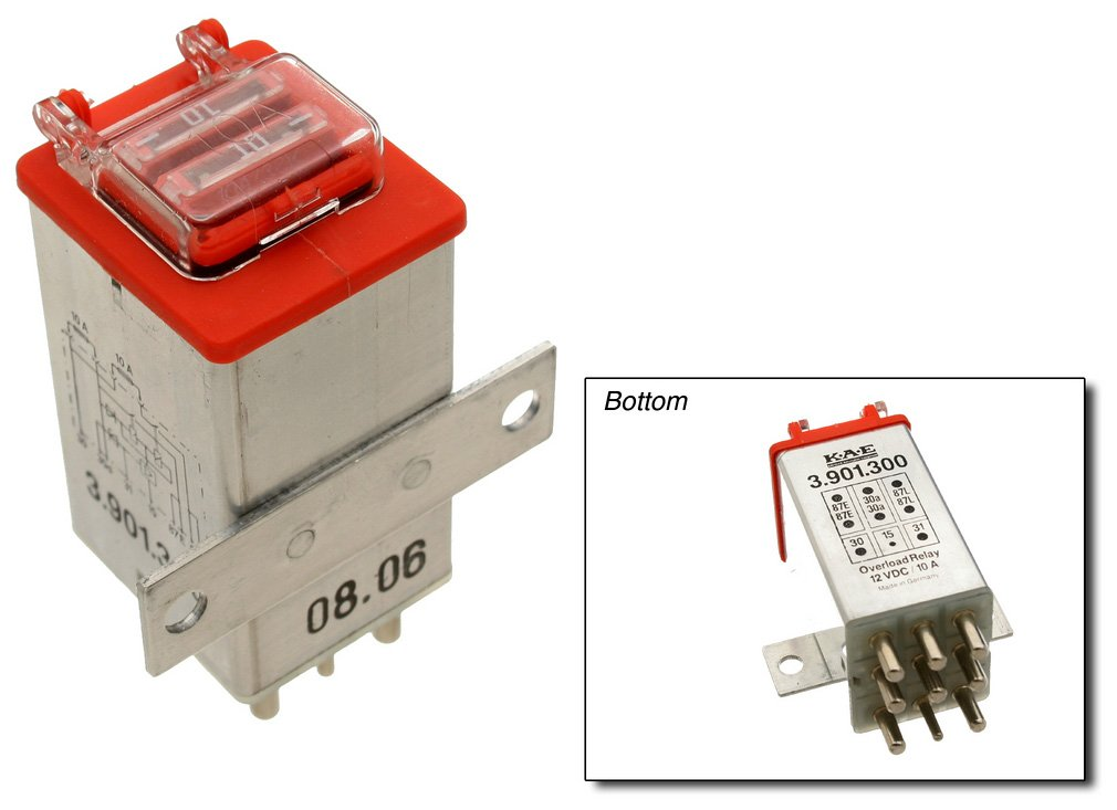 Overload Protection Relay URO Parts 2015403745