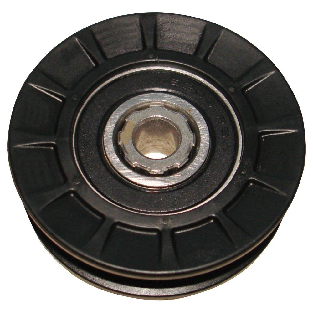 V Belt Idler Transmission Plastic Pulley 2.5