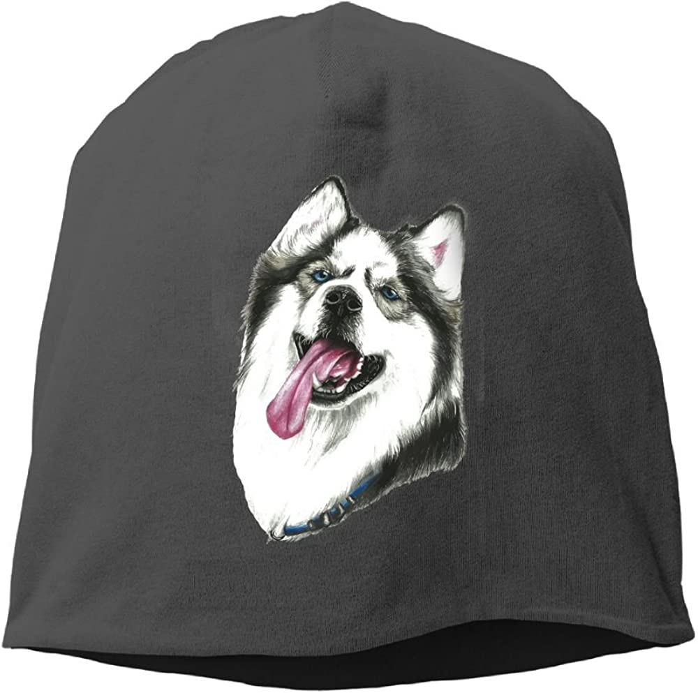 Janeither Headscarf Lovely Husky Hip-Hop Knitted Hat for Mens Womens Fashion Beanie Cap