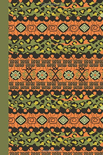 Sketchbook: Tribal Pattern (Green) 6x9 - BLANK JOURNAL NO LINES - unlined, unruled pages (Patterns & Designs Sketchbook Series)