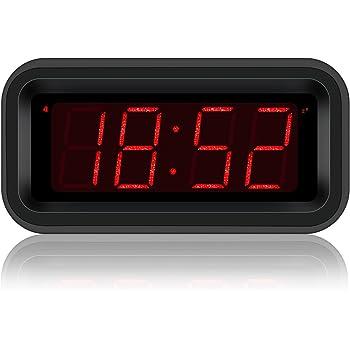kwanwa travel digital alarm clock small. Black Bedroom Furniture Sets. Home Design Ideas