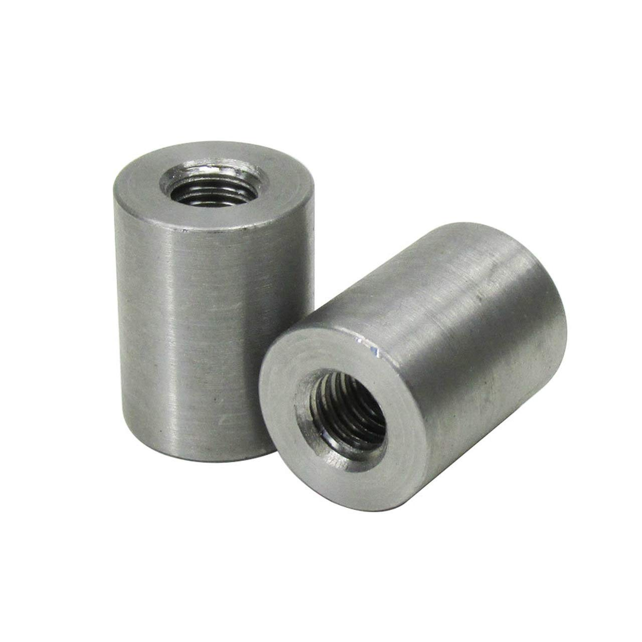 Fabrication Parts DIY Motorcycle Chopper Bobber Cafe Racer Builder Billet Proof Designs 22MM/_BNG/_ST QUANTITY OF 2 5//16-18 SHORT Coped Steel Bungs MADE IN THE USA Fits 1 to 1-1//4 Round Tubing