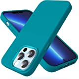 CloudValley Compatible with iPhone 13 Pro Max Case, Liquid Silicone Shockproof Protective Case with Soft Microfiber Lining fo