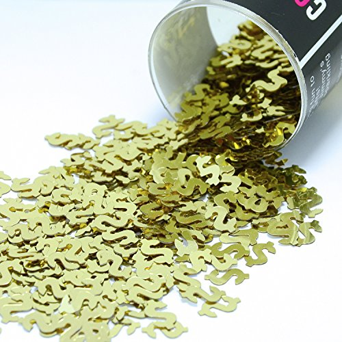 (Confetti Dollar Sign Gold - Retail Pack #8891 - Free Ship)