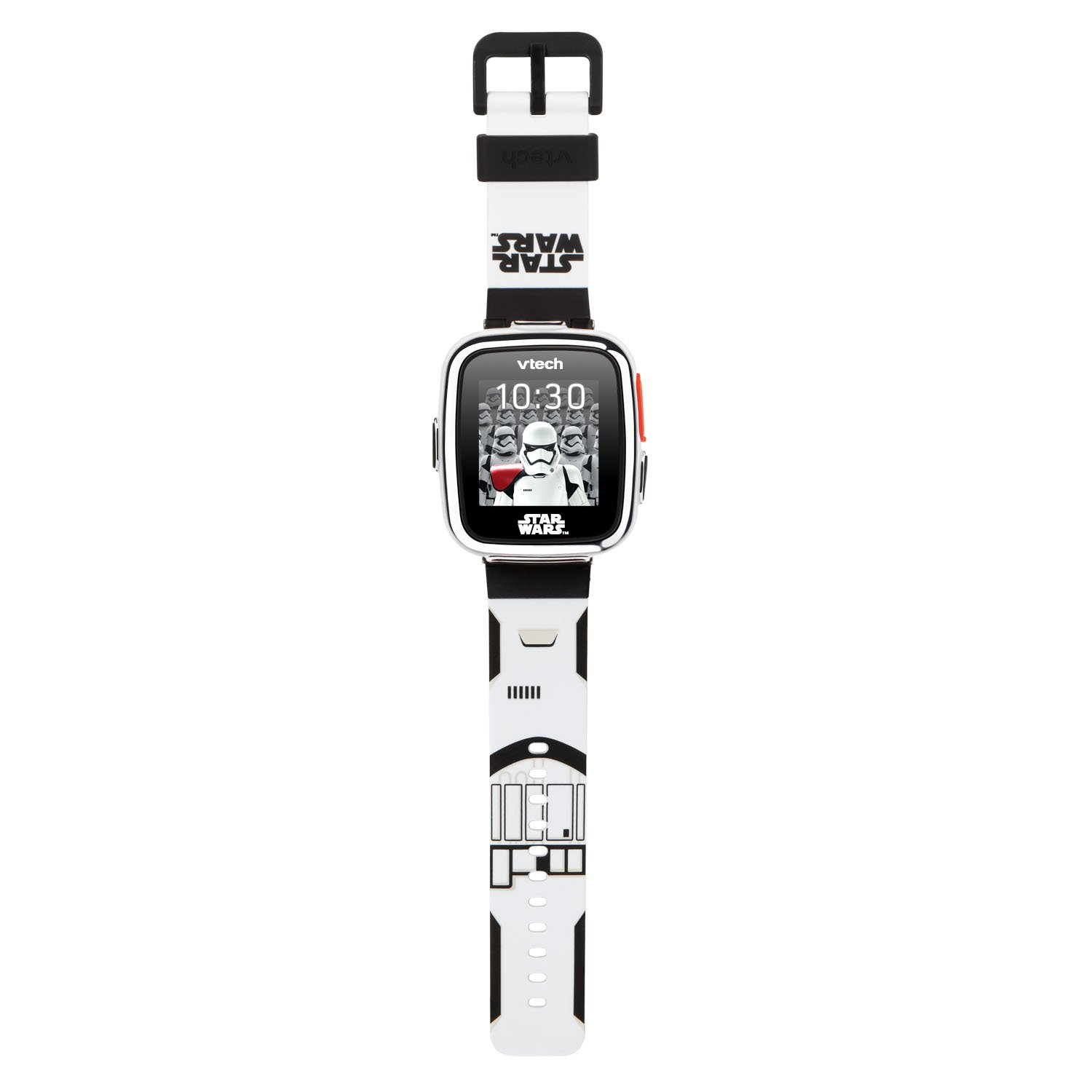 VTech Star Wars First Order Stormtrooper Smartwatch with Camera Amazon Exclusive, White by VTech (Image #2)