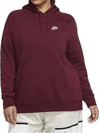 Acechar Oficial Variante  Nike + Sudadera con capucha de forro polar para mujer.: Amazon.es: Ropa y  accesorios