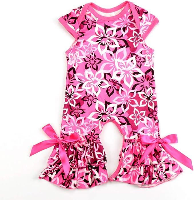4d6cceaaa IMEKIS Newborn Toddler Baby Girls Romper 1st Valentine's Day Jumpsuit One  Piece Bodysuit Birthday Outfit Pajama