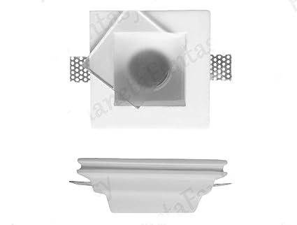 Puerta Foco cuadrado de tiza Ceramico Totalmente con cristal satinado PF11 Lote de 50 piezas +