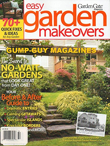 Garden Gate Easy Garden Makeovers Magazine (Garden Gate Backyard Retreat Bonus Issue Included, 2011) (Small Backyards Patio Backyard For Ideas)