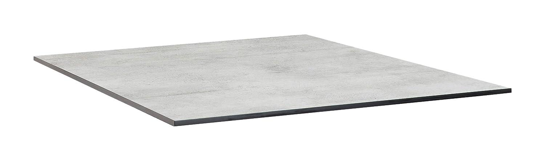 KETTLER Advantage Esstische HPL-Tischplatte 95 x 95 cm, grau