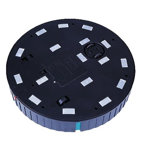 Robot de aspiradora automática, barredora de fregona robótica de microfibra para alfombras de piso Limpiadora de polvo de madera dura: Amazon.es: ...