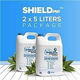 High Level Hand Sanitizer & Surface Disinfectant 100% Natural [Bundle Offer 2 X 5Liters] - SHIELDme