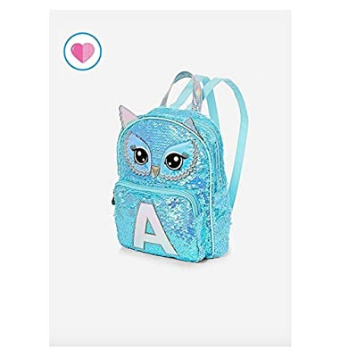 Justice Owl Flip Sequin Mini Backpack well-wreapped