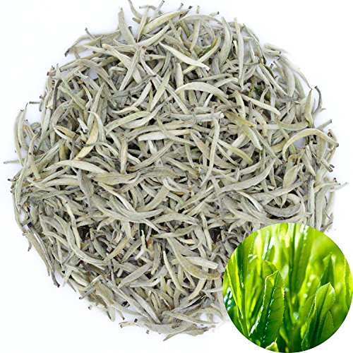 Organic Silver Needle White Tea - TooGet Organic Silver Needle White Tea, Pure White Tea Loose Leaf, Premium Grade - 2 OZ