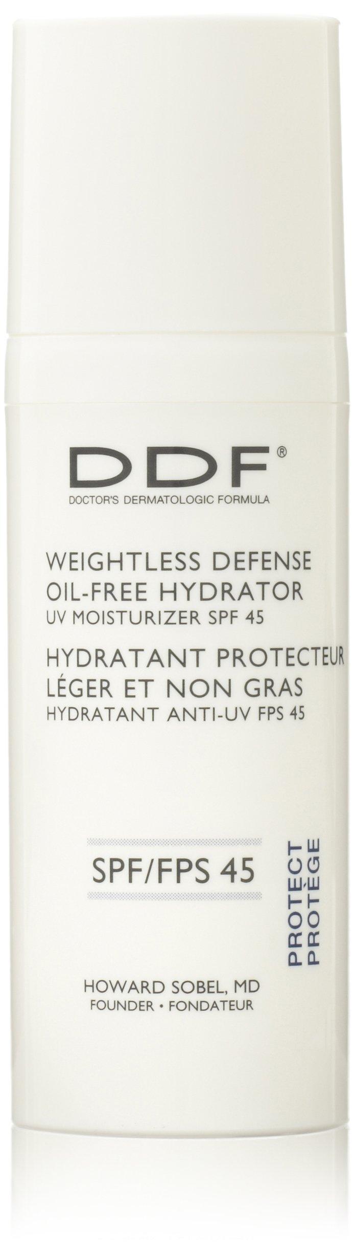 DDF Weightless Defense Oil-Free Hydrator UV Moisturizer SPF 45 , 1.7 fl. oz.