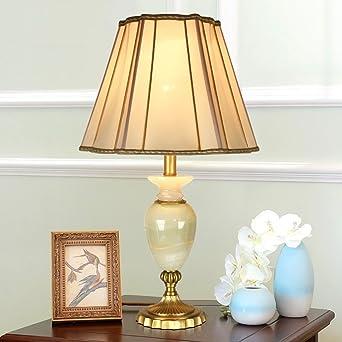 Bsnowf Tisch Nachttischlampen Kupfer Tischlampe Schlafzimmer