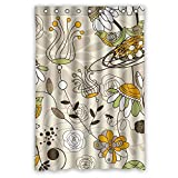 ZEEZON Bathroom Curtains Width X Height / 48 X 72 Inches / W - Best Reviews Guide