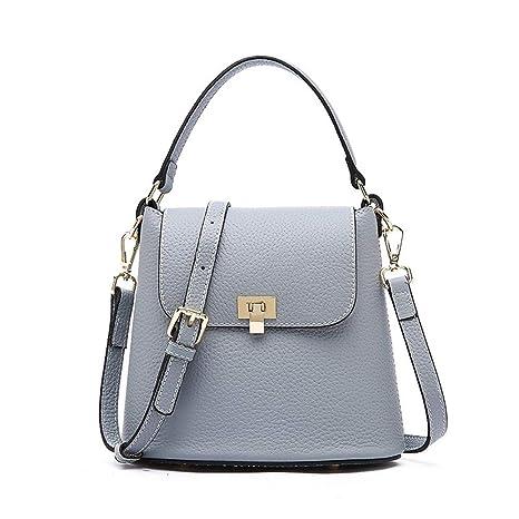 Jxth Carteras clásicas de Crossbody para Mujer Bolsos de Cuero Moda Trend Beach Bolsa Messenger Bag