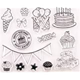 Wood Mounted Rubber Stamp PS0889 OL Cupcake