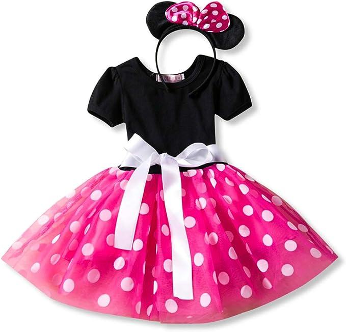 zhenlanshangmao Dibujos Animados Mickey Princess Vestido Grande ...