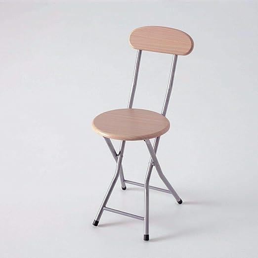 silla plegable metal y madera