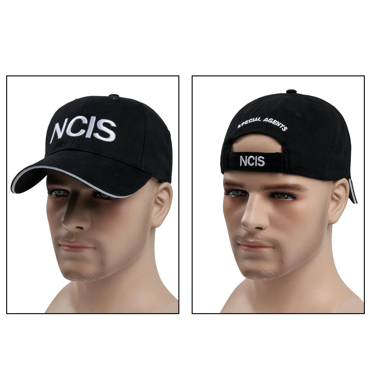 NCIS Special Agents Cap Naval Criminal Investigative Service Embroidered  Adjustable Cotton Baseball Cap Hat  ( 55ae91bc73fc