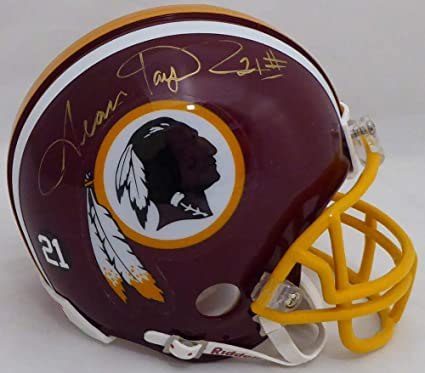 10d2183e Amazon.com: Sean Taylor Signed Washington Redskins Mini Helmet - JSA ...