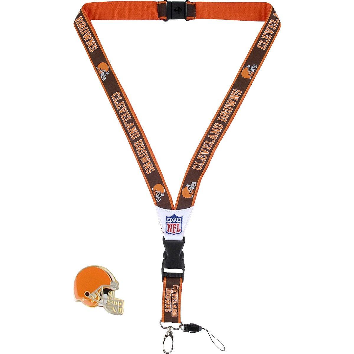 Amazon.com: JF Deportes Cleveland Browns Cordón y Pin ...