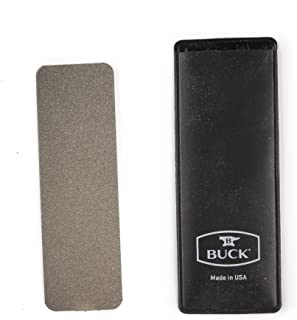 product image for Buck Knives 97076 EdgeTek Dual Grit Pocket Stone Diamond Knife Sharpener
