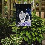 Caroline's Treasures SS8357GF Starry Night Keeshond Flag Garden Size, Small, Multicolor 4