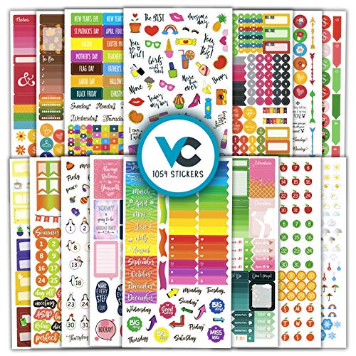 Creative Halloween Ideas (Vladi Creative Planner Stickers (Set of 1054 Stickers Value Pack) - Functional & Decorative Life Planner Stickers Set for Monthly, Weekly & Daily Planners, Journals, Notebooks &)