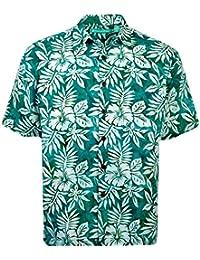 Lake Tahoe Batik Cotton Hawaiian Shirt