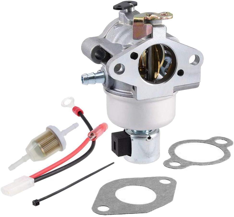 HUZTL 20 853 33-S Carburetor for Kohler 20 853 01-S 02-S 14-S 16-S 33-S 42-S 43-S for Kohler SV590 SV591 SV600 SV601 SV610 SV620 CV CV490 CV491 CV492 CV493 Engine Carb 12 853 117-S