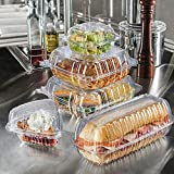 A World Of Deals Clamshell Pie Wedge Clear Hinged