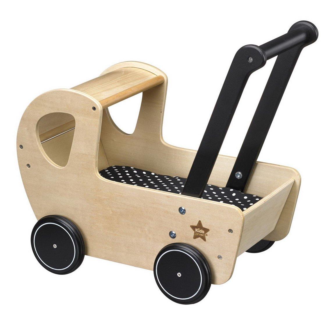Kids Concept de madera Juguete Muñeca carro Neo, 26 x 42 x 42 cm, color natural: Amazon.es: Juguetes y juegos