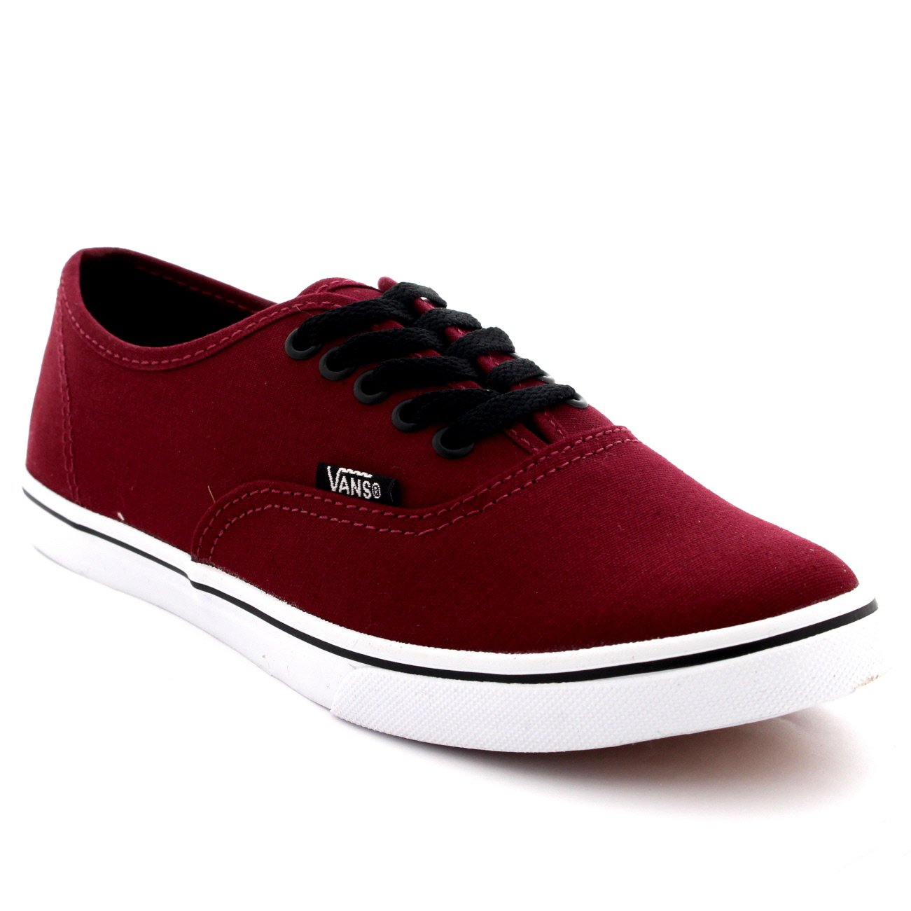 9cc27202cb Galleon - Womens Vans Authentic Lo Pro Plimsolls Low Top Skate Shoes  Sneakers - Tawny Port True White - 7.5