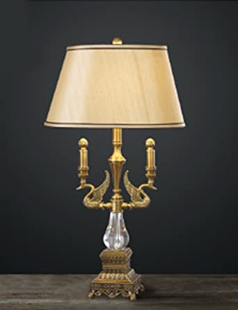 CJSHV-Estilo Europeo Retro Vintage de cristal Lampara de ...