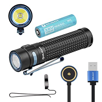 Olight S2r Baton Ii Lampe Torche Led Puissante Rechargeable 1150