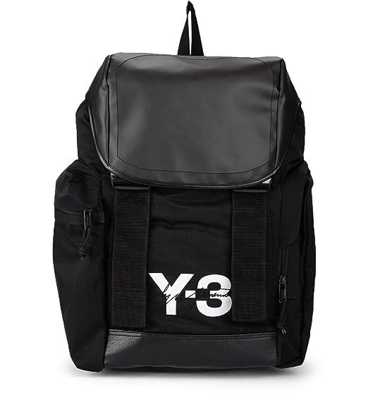 60947bb0183a Y-3 Y-3 Mobility Bag Black Nylon Backpack Black  Amazon.co.uk  Clothing