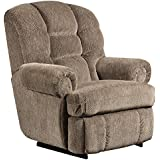 Flash Furniture Big & Tall 350 lb. Capacity Gazette Pewter Microfiber Recliner