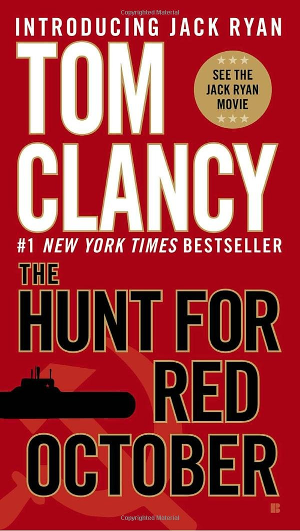 Image result for Tom Clancy's character Jack Ryan (The Hunt for Red October, Patriot Games, etc.)
