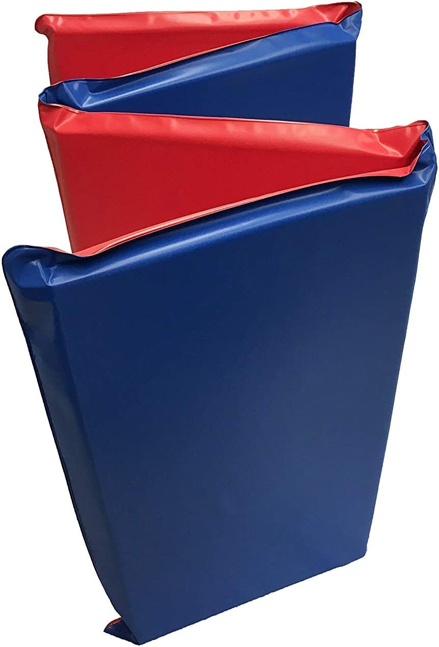 Kindermat Basic Rest Mat, 1 Thick, 45 X 19 , Red Blue, School, Home, Daycare